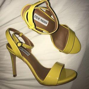 Steve Madden Yellow Heels